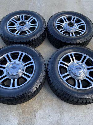 "20"" Ford F-250 F-350 Platinum OEM rims wheels BRAND NEW TIRES! for Sale in Boynton Beach, FL"