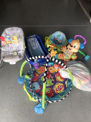 Lot of Baby/Toddler toys, good shape, CLEAN! for Sale in Rancho Cucamonga, CA