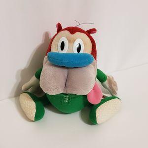 "Nickelodeon Stimpy in Pajamas 8"" Plush Toy Stuffed Animal 1992 Dakin for Sale in Brookfield, IL"
