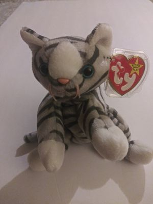Beanie baby silver the cat for Sale in Fremont, CA