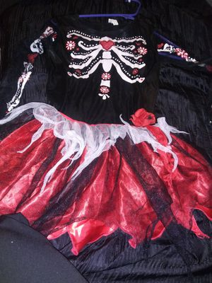 Costume Girls Like a 10 to 12 Day of the dead for Sale in Oakdale, CA