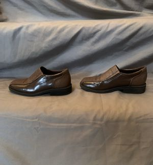 Little Boys Size 11 Brown Dress Shoes for Sale in Dover, DE