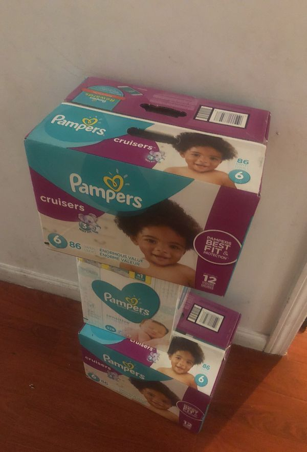 Pampers end wipes