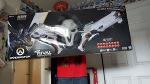 Overwatch rival nerf guns and masks for Sale in Gresham, OR
