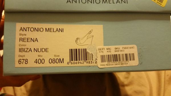 7f12d519e82 Antonio Melani nude wedges for Sale in Corpus Christi