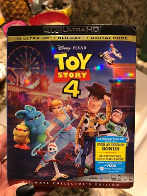 Toy Story 4 Ultra HD Collectors Edition for Sale in North Port, FL