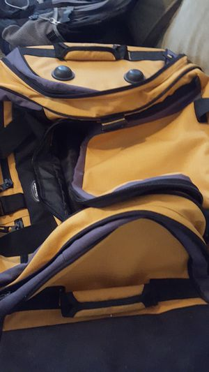 Large yellow duffle bag for Sale in Austin, TX