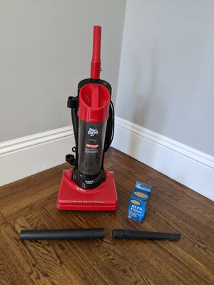 Dirt Devil corded vacuum with new HEPA filter for Sale in San Francisco, CA