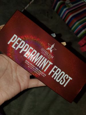 Jeffree Star Peppermint frost highlighter palette for Sale in Palmdale, CA