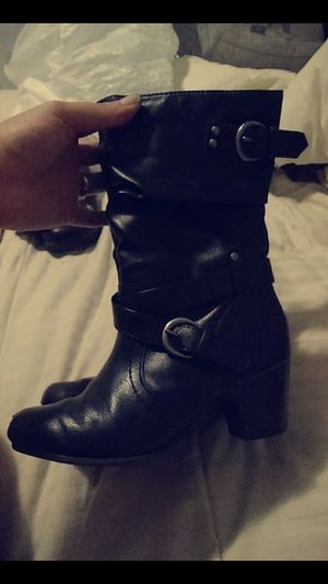 Black boots (little girls) for Sale in Odessa, TX