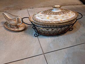 Temptations Floral Oval Baker for Sale in Pomona, CA