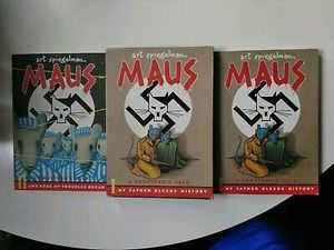 Maus I and Maus II Box Set Graphic Novel for Sale in Washington, DC