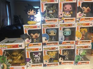 Dragonball Z/Super Funko! Pop set for Sale in Princeton, NC