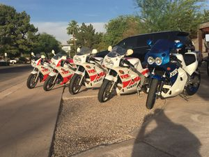 Yamaha FZR Collection rare models 400 750RU OW-00 R1 1st generation 87-88 for Sale in Phoenix, AZ