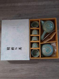 Traditional Korean tea set vintage never used for Sale in Oakland Park,  FL