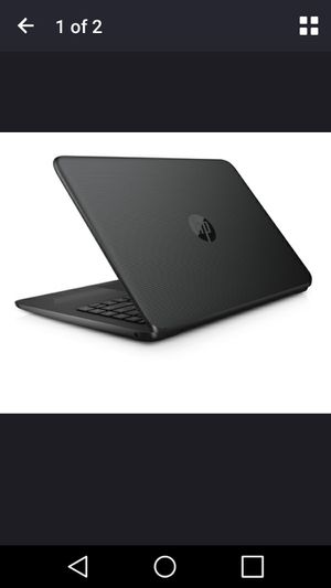 "Refurbished HP 14-AX040WM stream 14"" jet black laptop, intel celeron N3060 CPU, 4GB RAM 32GB for Sale in Richmond, VA"