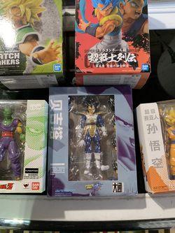 Dragonball Z Figures Goku Vegeta Broly for Sale in Coto de Caza,  CA