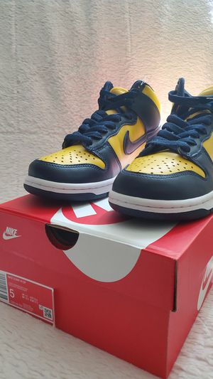 Nike Dunk High Michigan 2020 for Sale in Katy, TX