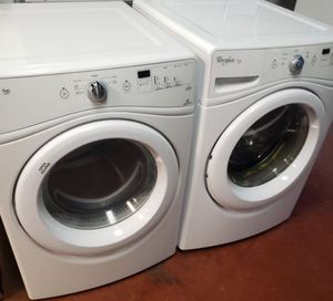 Whirlpool Electric Washer and Dryer for Sale in Phoenix, AZ
