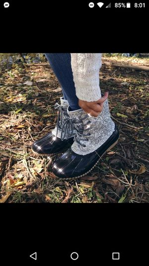 Glitter duck boots for Sale in El Paso, TX