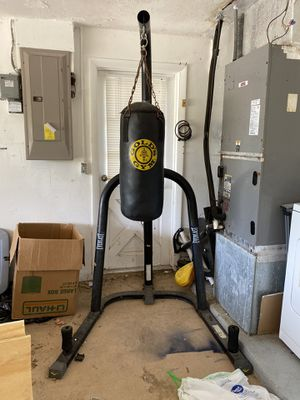 Golds gym punching bag for Sale in New Port Richey, FL
