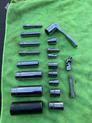 Snap on socketsAnd one Mac Socket and wrench for Sale in Columbus, OH