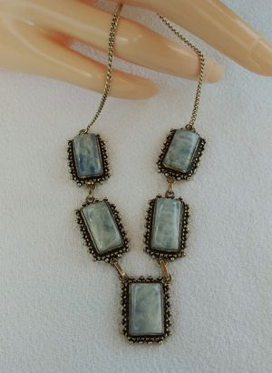 NEW ARRIVALS!!! 925 Silver MOONSTONE Gemstone Necklace $30.00 for Sale in Hollywood, FL