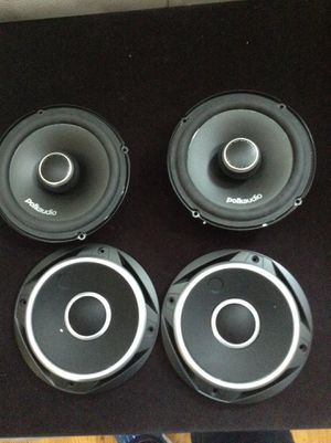 """Polk Audio Dxi 650 with covers 6.5"""". Great condition for Sale in Mableton, GA"""