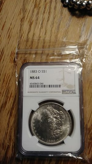 1883 O ms64 Morgan dollar for Sale in Broomall, PA