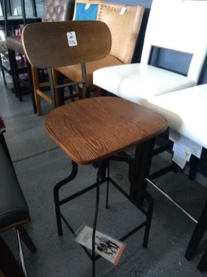 """Industrial Height Adjustable (22 """" to 34"""" seat height) Barstools 15 AVAILABLE $89 each! NEW in box for Sale in Manteca, CA"""