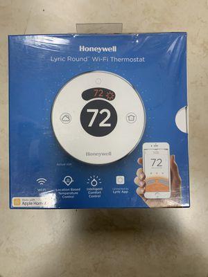 Honeywell lyric round WiFi thermostat for Sale in Garden Grove, CA
