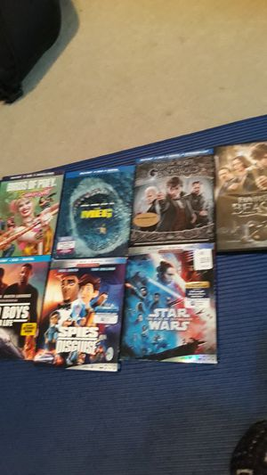 Blu-ray movies for pickup for Sale in Duvall, WA