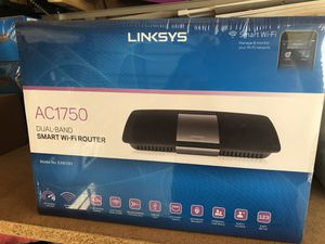 Brand new Linksys AC 1750 dual band WiFi Router for Sale in Schiller Park, IL