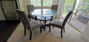 Dining Table w/ 4 Chairs for Sale in Vernon Hills, IL