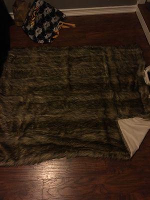 Fake fur blanket $10 for Sale in Whittier, CA