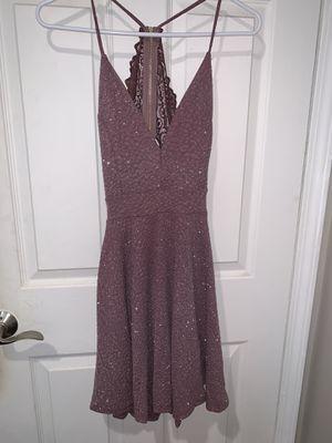 Purple glitter prom dress for Sale in Los Alamitos, CA