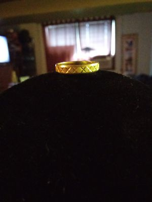 Very cute 14kt solid gold ring. Stamped & tested. Size 4 1/4. Look at my other sterling silver vintage and gold items added everyday😊 for Sale in Seattle, WA