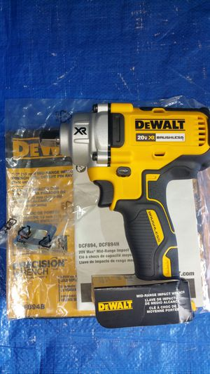 $160. ( TOOL ONLY ) DEWALT 20-Volt MAX XR Lithium-Ion Cordless 1/2 in. Impact Wrench with Detent Pin Anvil for Sale in Evergreen, CO