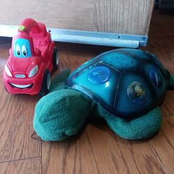 Light Up Turtle And Car Toy for Sale in San Bernardino,  CA