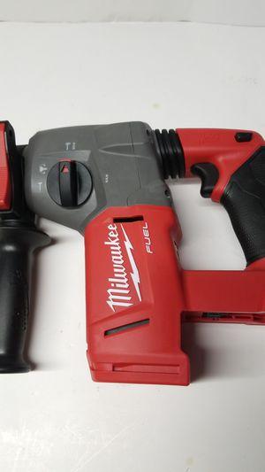 Milwaukee fuel rotary hammer drill 18v for Sale in Falls Church, VA