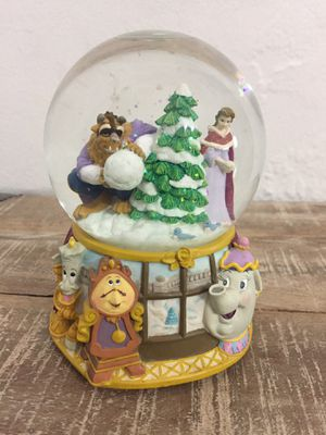 Disney Belle from Beauty and the Beast Musical Waterball Snow Globe in Box!! for Sale in Miami, FL