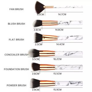 15 Pcs Marbling Makeup Brushes Set Eyeshadow Eyeliner Concealer Brush Mini Make Up Brush Tool for Sale in New York, NY