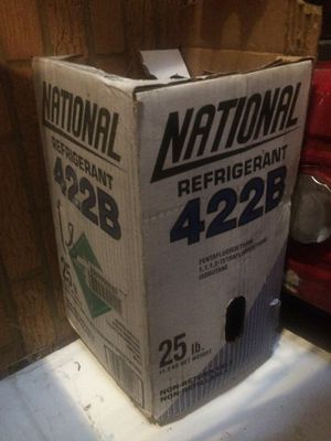 422 B Freon 25lb unopened bottle for Sale in Rockville, MD