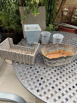 Pots/planters for Sale in Belmont, CA