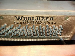 Wurlitzer piano & bench for Sale in San Angelo, TX