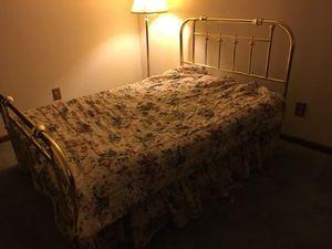 Brass bed frame for Sale in Ellington, CT