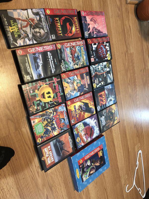 Sega genesis lot
