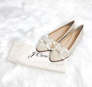 J. Crew Tweed Flat Loafers for Sale in Frisco, TX
