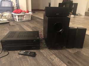 Onkyo receiver and speakers for Sale in Mesa, AZ