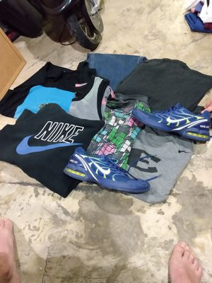 Men's Clothing bulk with Nike Airmax (All name brand) for Sale in Nashville, TN